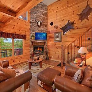 ホテル写真: Majestic Forest Three-Bedroom Cabin, ピジョン・フォージ