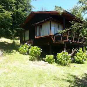 Hotel Pictures: Casa en Caburgua con playa privada, Caburgua