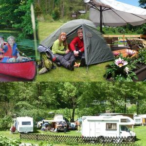 Hotelbilleder: Ferienhaus am Naturcamping Plothental, Ziegenrück