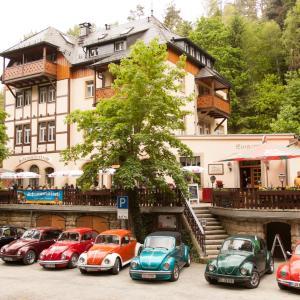 Hotelbilleder: Pension Schrammsteinbaude, Bad Schandau