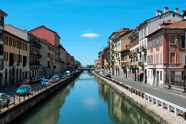 Navigli canal district