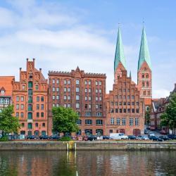 Lübeck 10 cama e café (B&Bs)