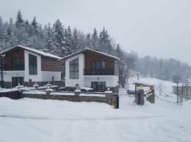 villa in mountains