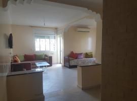 Appartement a Marina Smir sur la mediterranee