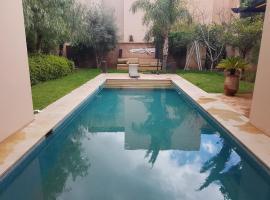 villa avec piscine privée a golf el maaden marrakech