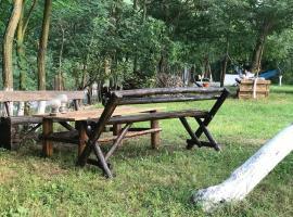 Camping in Clisura Dunarii
