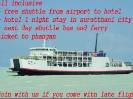 Suratthani Airport Overnight To Koh Phangan