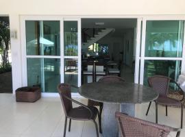 Casa beira mar em Toquinho tranquila e com segurança