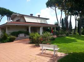 Villa Chauvet, Castel di Guido