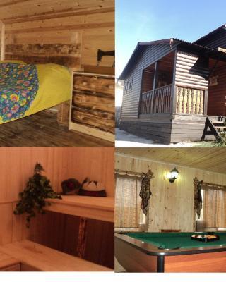 Дом на 14 человек (сауна,бильярд, баня по-черному)