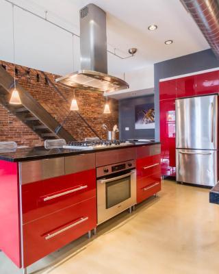 Modern Design/High End 1BD Loft