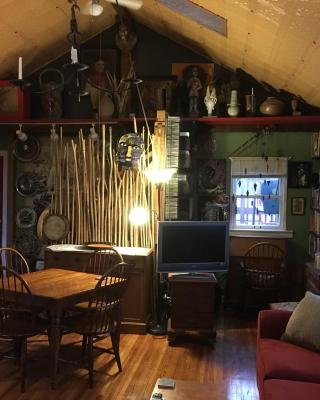 The Artist's Apartment Above Liggett Pottery