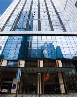 Qingdao Lejiaxuan Yuexi Apartment Hongkong Central Rd The MIXC Branch