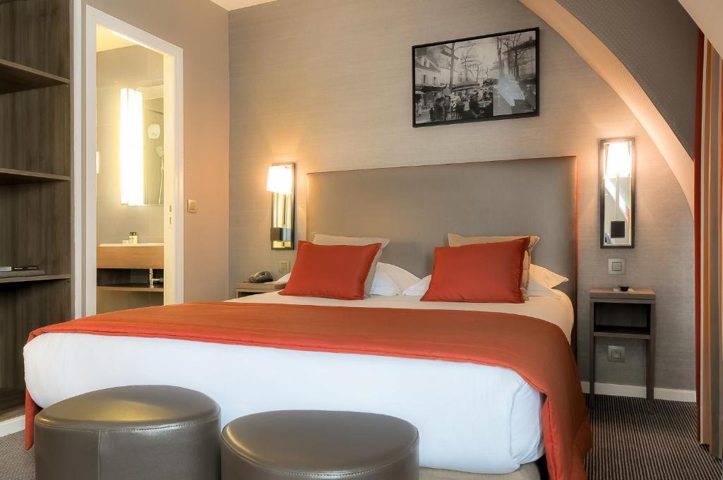 O Hôtel Marais Bastille é uma das opções de hospedagem em Paris