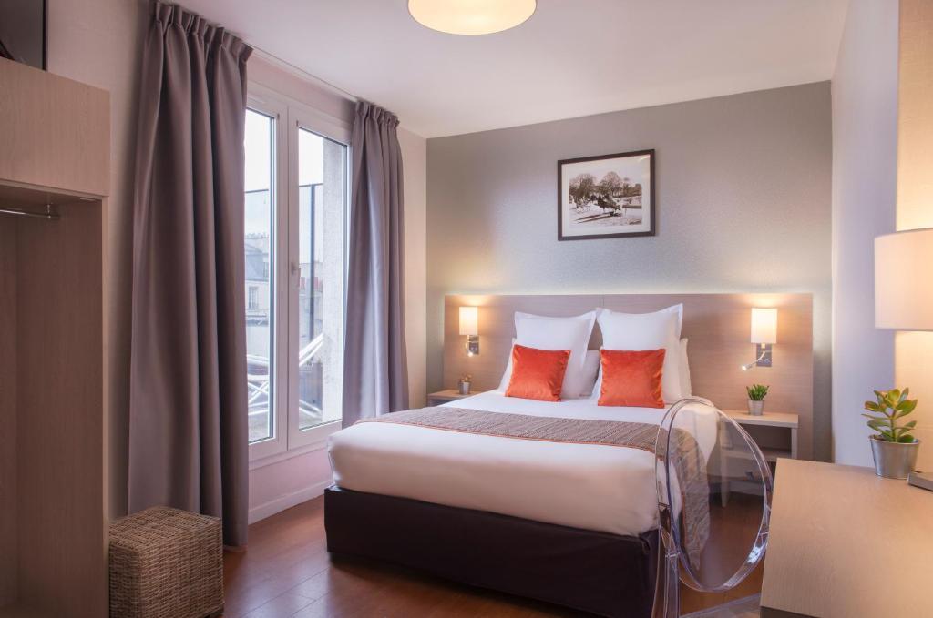 O Classics Hotel Bastille é uma das opções de hospedagem em Paris