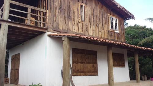 Casa com vista para o mar de Cumuruxatiba