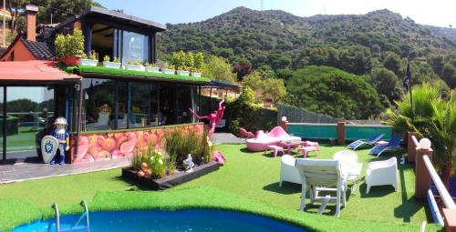 Chalé alpino Casa Miramiranda (Espanha Teià) - Booking.com