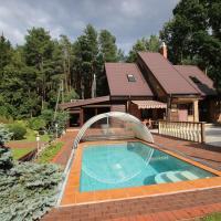 Dream forest house of Kaunas Reservoir