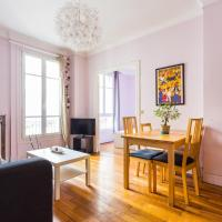 Cute and colourful apartment near Bercy