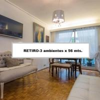 3 ambientes en Retiro / Recoleta (Centro)