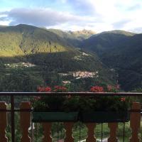 romantico attico vista montagna
