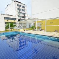 spacious penthouse duplex arpoador