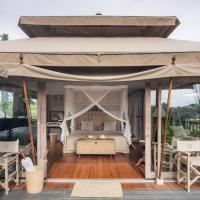 Exclusive tent in Canggu