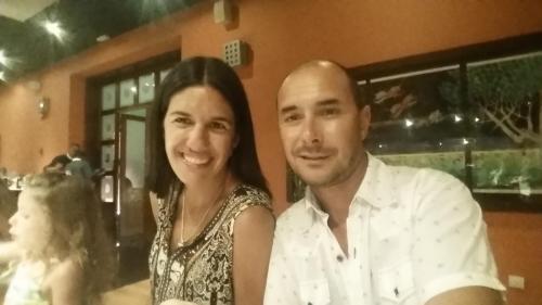Carolina y Mauricio