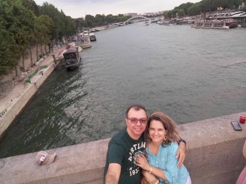 Marcos Lima e Evania Galindo